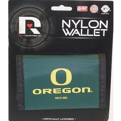 NCAA Oregon Ducks Tri-fold Nylon Wallet with Printed Logo