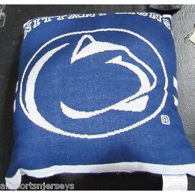NCAA NWT 20x20  JACQUARD PILLOW - PENN STATE NITTANY LIONS