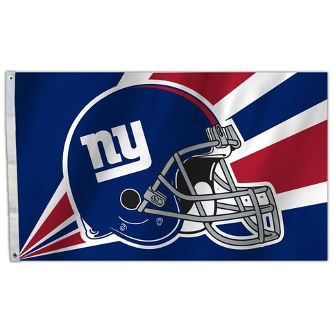 NFL 3' x 5' Team Helmet Flag New York Giants by Fremont Die
