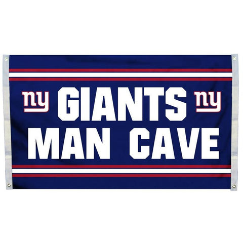 NFL 3' x 5' Team Man Cave Flag New York Giants