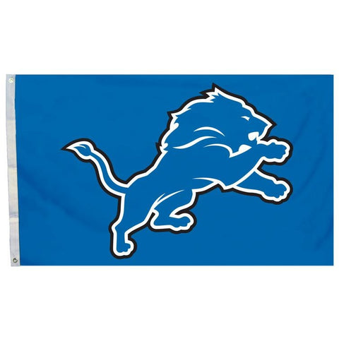 NFL 3' x 5' Team All Pro Logo Flag Detroit Lions by Fremont Die