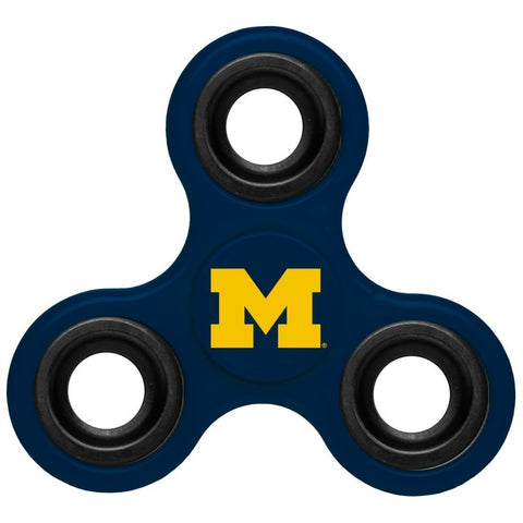 NCAA Michigan Wolverines 3-Way Fidget Spinner By Forever Collectibles