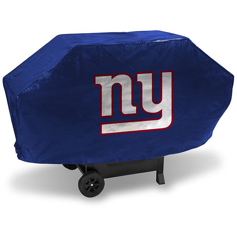 NFL New York Giants 68 Inch Deluxe Blue Vinyl Padded Grill Cover by Rico Industries