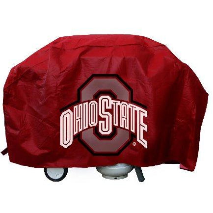 NCAA Ohio State Buckeyes 68 Inch Vinyl Economy Gas / Charcoal Grill Cover