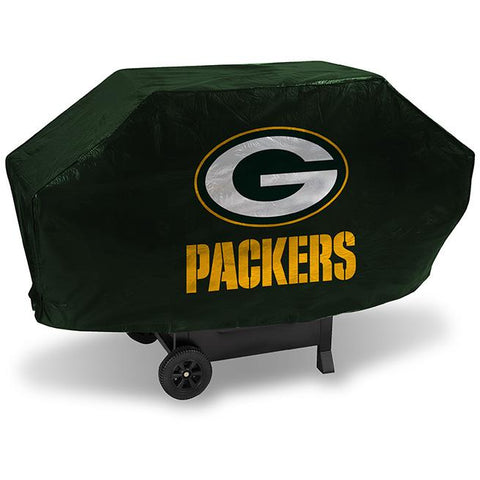 NFL Green Bay Packers 68 Inch Deluxe Green Vinyl Padded Grill Cover by Rico Industries