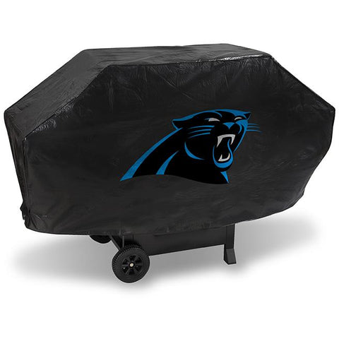 NFL Carolina Panthers 68 Inch Deluxe Vinyl Padded Grill Cover by Rico Industries