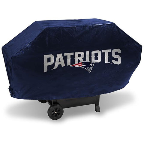 NFL New England Patriots 68 Inch Deluxe Vinyl Padded Grill Cover by Rico Industries