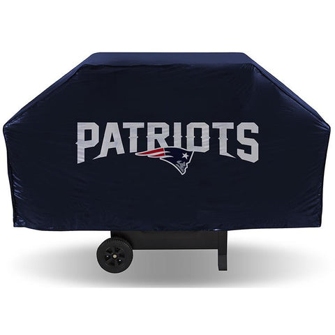NFL New England Patriots 68 Inch Vinyl Economy Gas / Charcoal Grill Cover