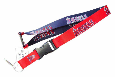 MLB Los Angeles Angels Reversible Lanyard Keychain 23″ Long 3/4″ Wide by Aminco