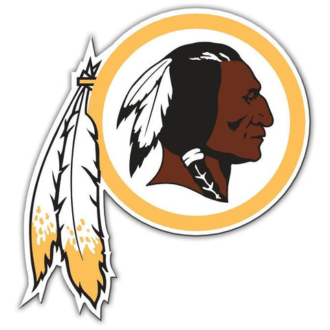 NFL 12 INCH AUTO MAGNET WASHINGTON REDSKINS CURRENT LOGO
