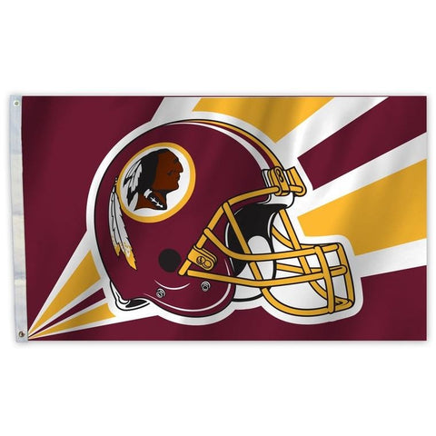 NFL 3' x 5' Team Helmet Flag Washington Redskins by Fremont Die