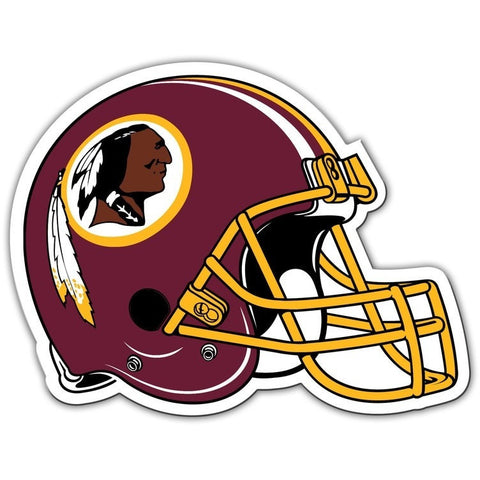 NFL 12 INCH AUTO MAGNET WASHINGTON REDSKINS HELMET
