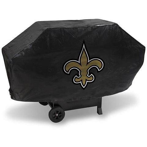 NFL New Orleans Saints 68 Inch Deluxe Vinyl Padded Grill Cover by Rico Industries
