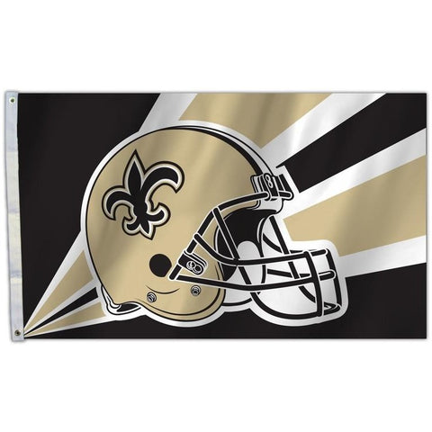 NFL 3' x 5' Team Helmet Flag New Orleans Saints by Fremont Die