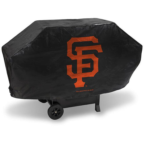 MLB San Francisco Giants 68 Inch Deluxe Vinyl Padded Grill Cover by Rico Industries