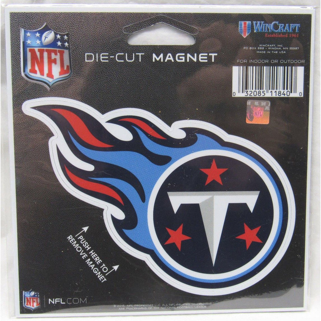37953cd3235 NFL Tennessee Titans Logo 4 inch Auto Magnet by WinCraft – All ...