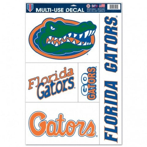 NCAA Florida Gators Ultra Decals Set of 5 By WINCRAFT