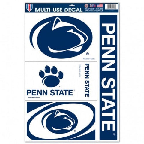 NCAA Penn State Nittany Lions Ultra Decals Set of 5 By WINCRAFT