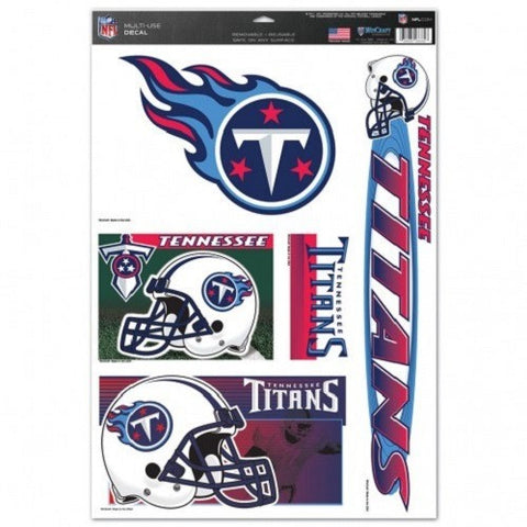 NFL Tennessee Titans Ultra Decals Set of 5 By WINCRAFT