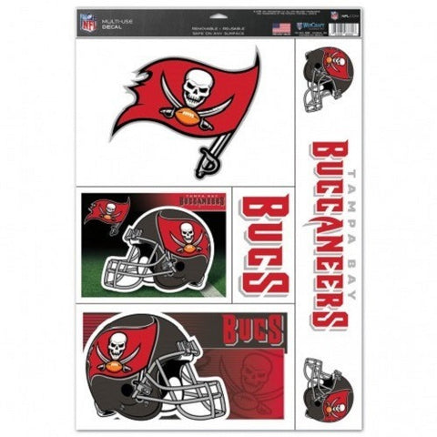 NFL Tampa Bay Buccaneers Ultra Decals Set of 5 By WINCRAFT
