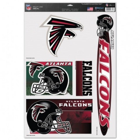 NFL Atlanta Falcons Ultra Decals Set of 5 By WINCRAFT