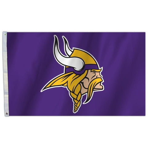 NFL 3' x 5' Team All Pro Logo Flag Minnesota Vikings by Fremont Die