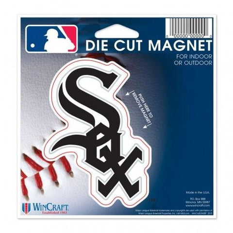 MLB Chicago White Sox Logo 4 inch Auto Magnet by WinCraft
