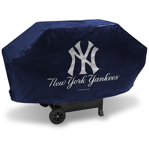 MLB New York Yankees 68 Inch Deluxe Vinyl Padded Grill Cover by Rico Industries