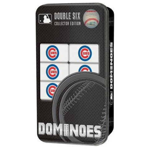 MLB Chicago Cubs White Dominoes Game by Masterpieces Puzzles