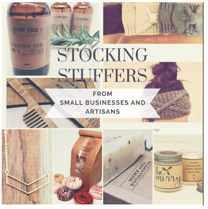 Favorite Stocking Stuffer Ideas From 8 Amazing Artisans and Small Businesses