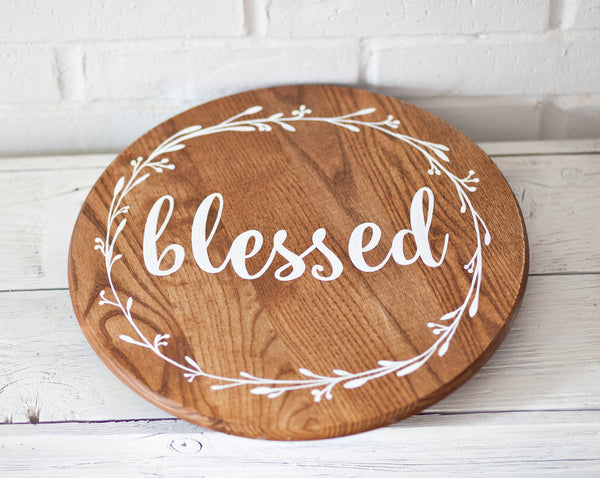 Blessed Rotating Tray