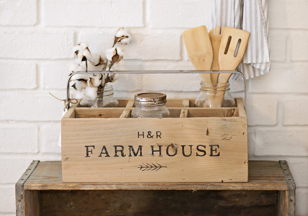 Reclaimed Wood Farmhouse Carrier