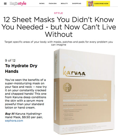 People Hydrating Hand Mask