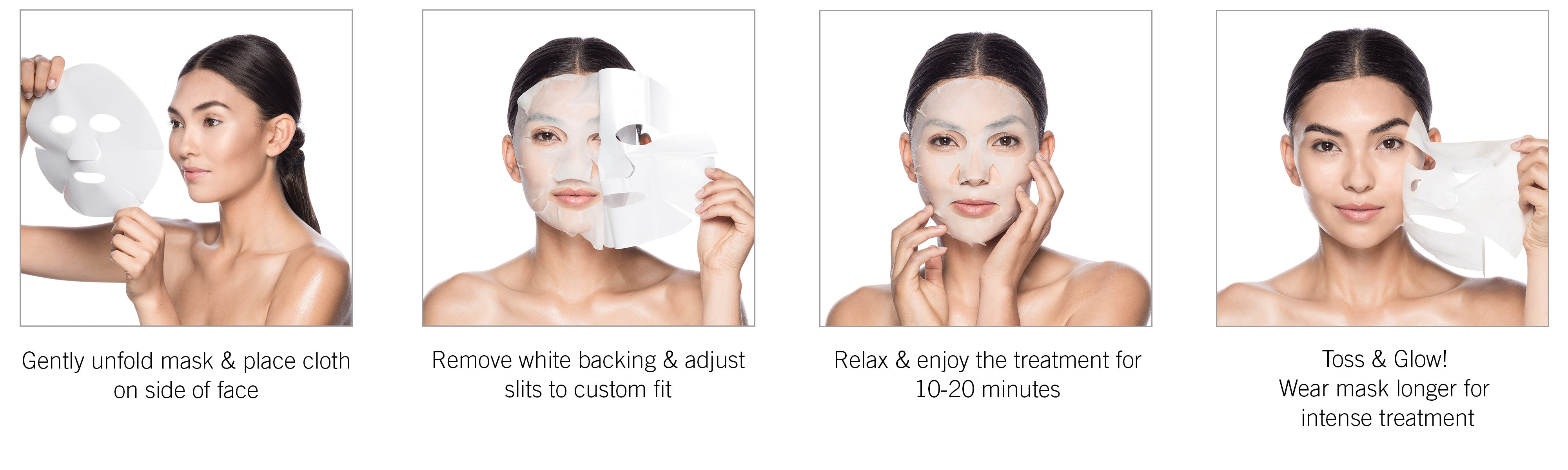 How to use your Karuna Face Masks