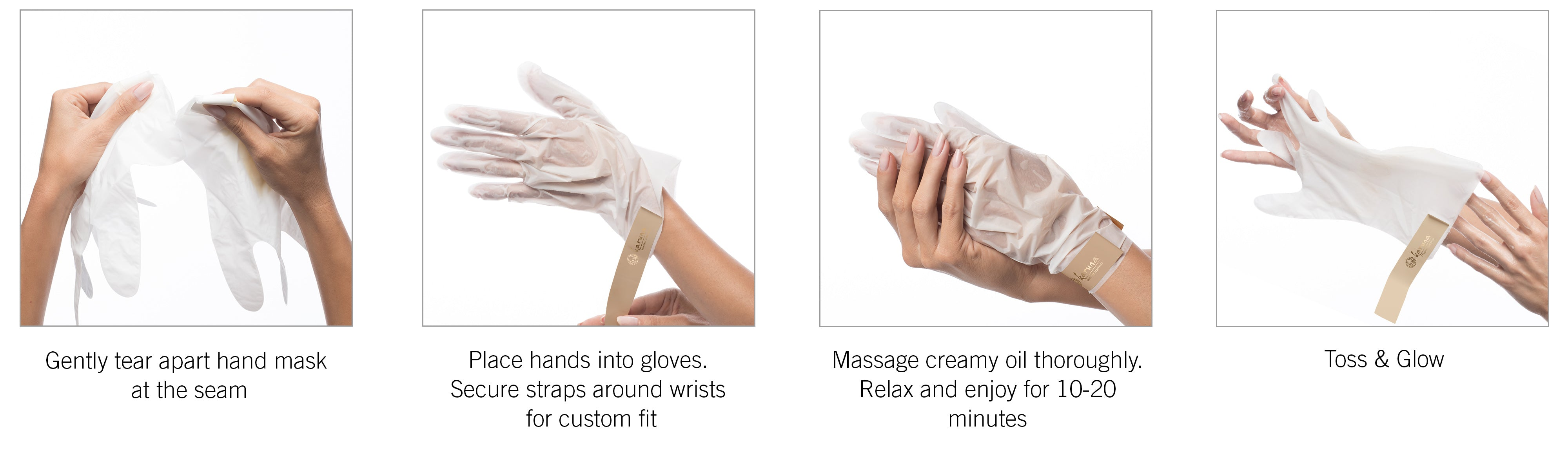 How to use your Karuna Hand Mask
