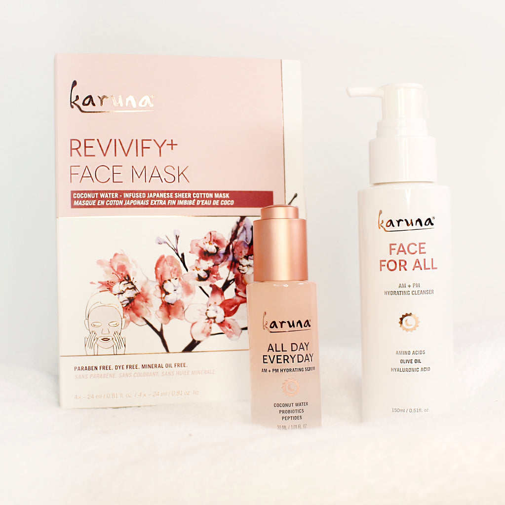 Sheet Masks - Exclusive Clean+ Beauty Bundle - Karuna Skin
