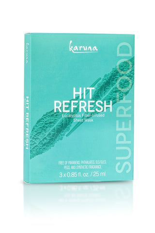 NEW! HIT REFRESH FACE MASK - 3 PACK
