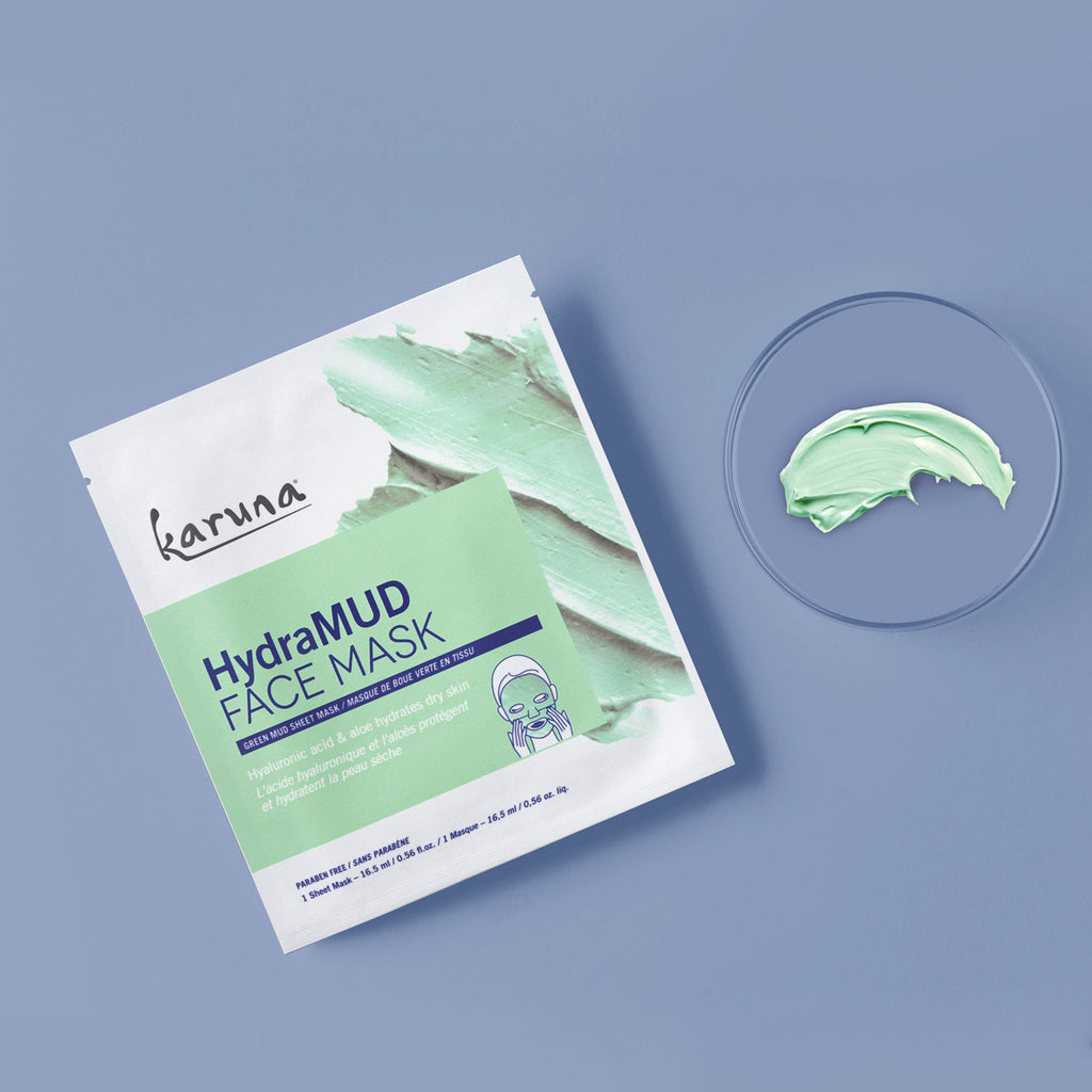 Sheet Masks - HydraMUD Face Mask - Karuna Skin