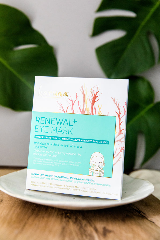 Sheet Masks - Renewal+ Eye Mask - Karuna Skin