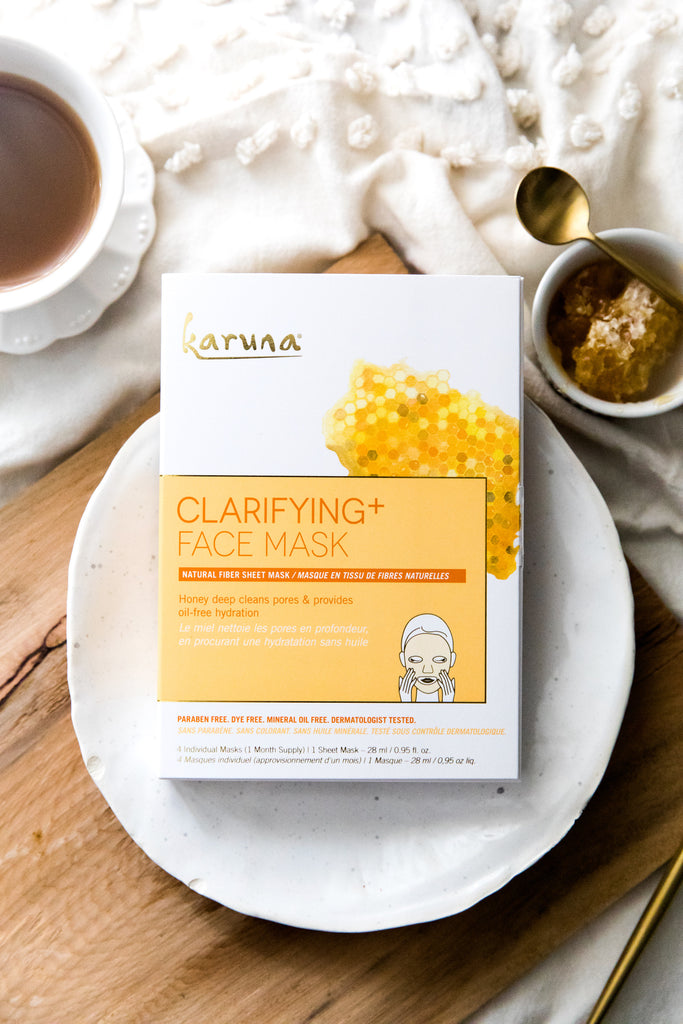 Sheet Masks - Clarifying+ Face Mask - Karuna Skin