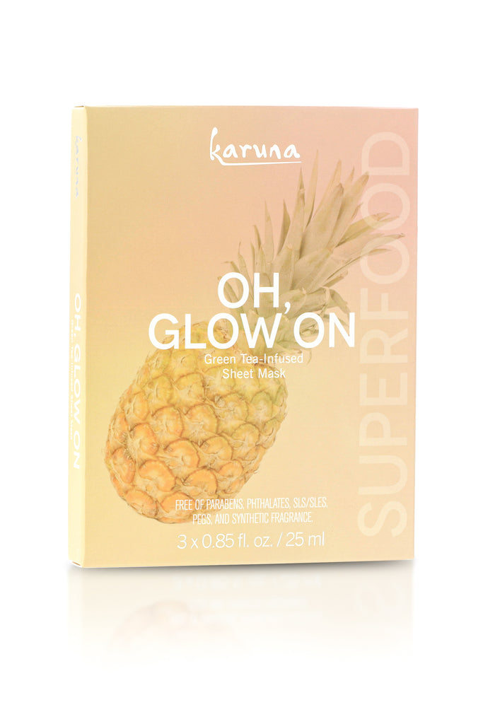 NEW! OH GLOW ON FACE MASK - 3 PACK