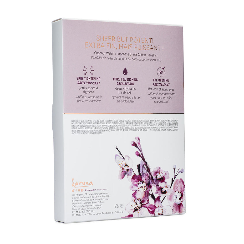 Sheet Masks - Revivify+ Eye/Cheek Mask Box - Karuna Skin