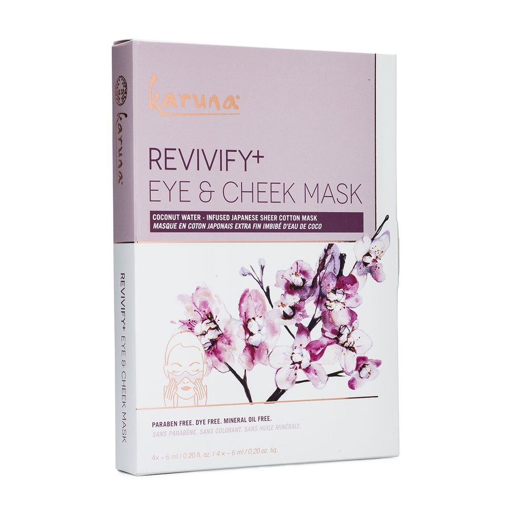 Sheet Masks - Revivify+ Eye Mask Box - Karuna Skin