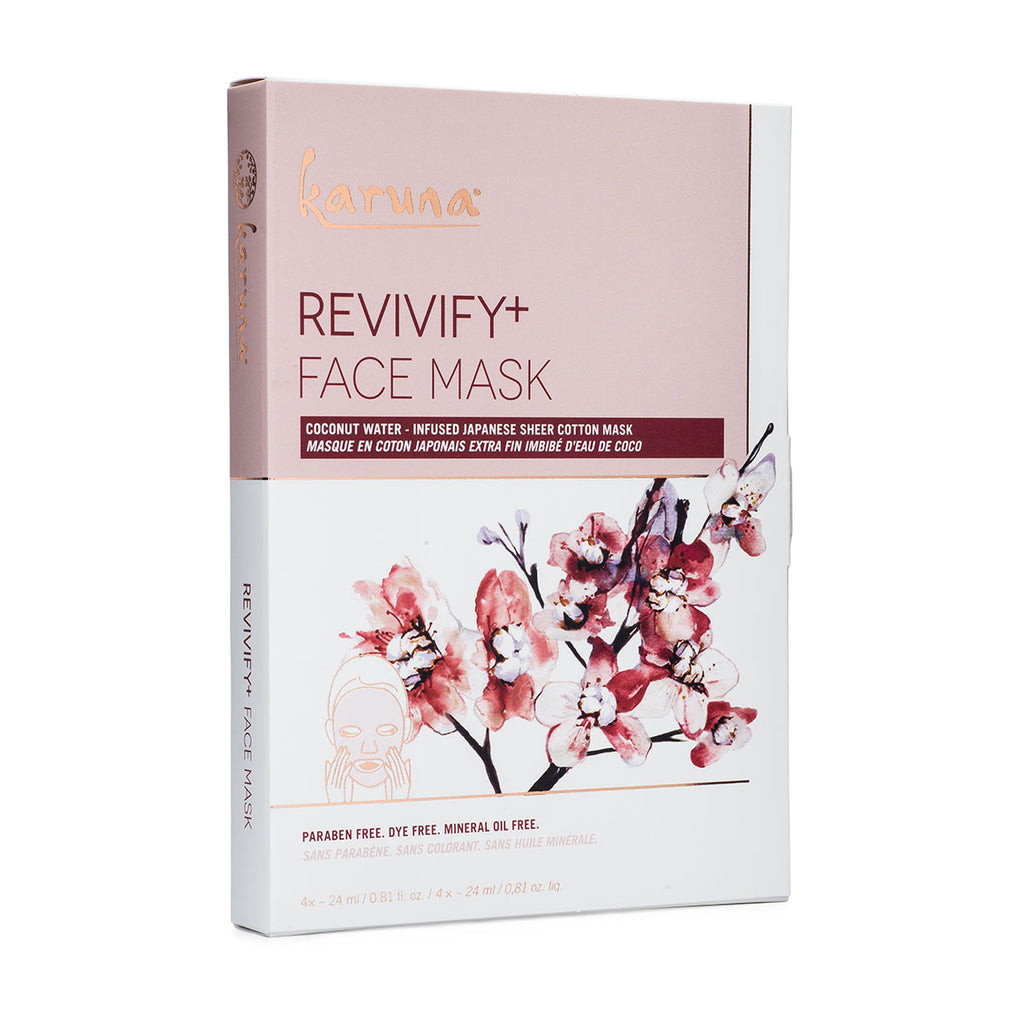 Sheet Masks - Revivify+ Face Mask Box - Karuna Skin