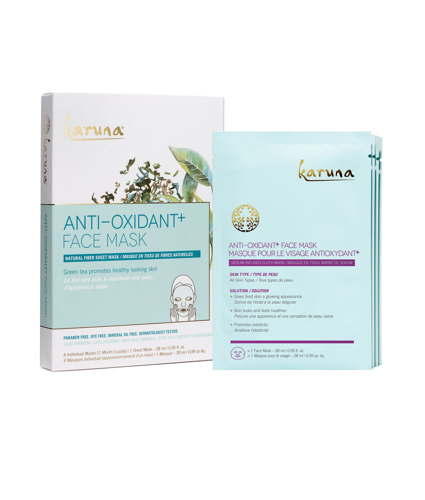 Sheet Masks - Anti-Oxidant+ Face Mask - Karuna Skin