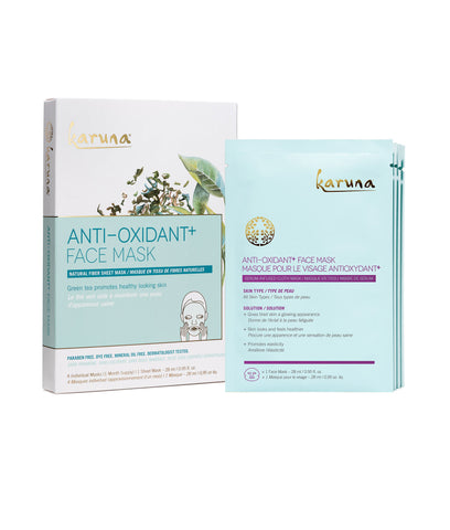 Anti-Oxidant+ Face Mask - 4 Pack
