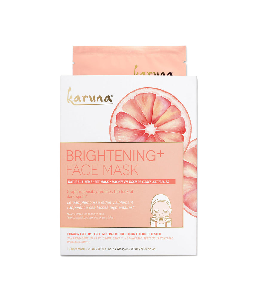 Sheet Masks - Brightening+ Face Mask - Karuna Skin