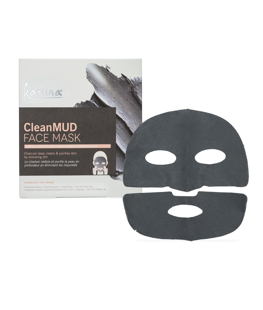 Sheet Masks - CleanMUD Face Mask - Karuna Skin
