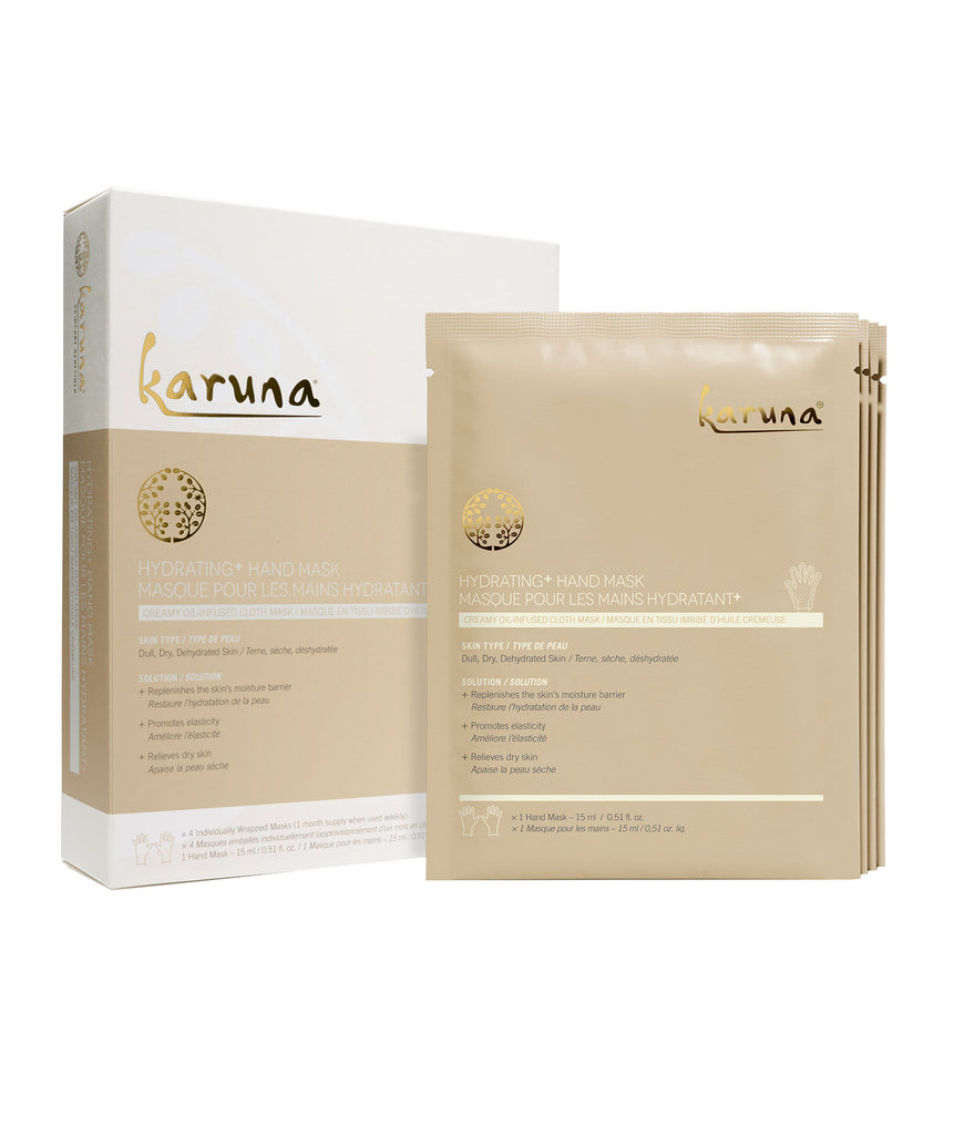 Sheet Masks - Hydrating+ Hand Mask - Karuna Skin