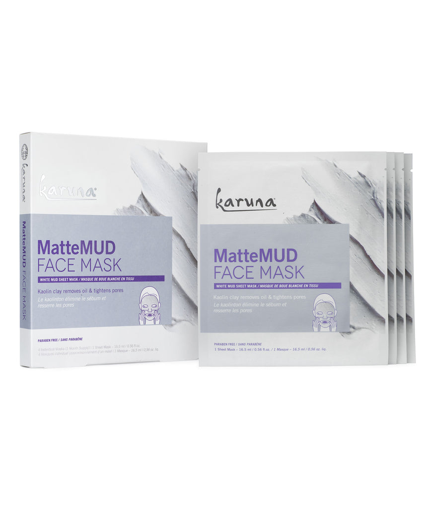 Sheet Masks - MatteMUD Face Mask Box - Karuna Skin